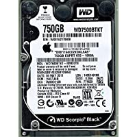 Western Digital WD7500BPKT-40MD3T0 MAC 750GB DCM: HACTJAB APPLE
