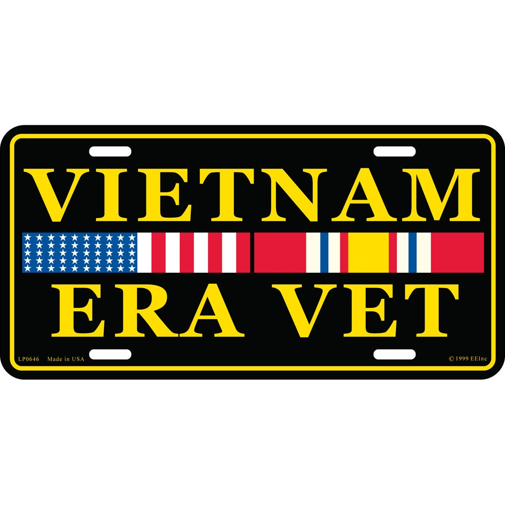Vietnam Era Vet Military License Plate EE Inc.