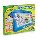 Crayola Magic Scene Creator, Drawing Kit for Kids, Creative Toys, Gift for Boys and Girls, Kids, Ages 3, 4, 5, 6,7 and Up, Holiday Toys, Arts and Crafts,  Gifting