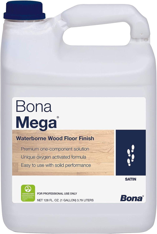 Bona Mega Wood Floor Finish Satin 1 Gallon Floor Smoothing And