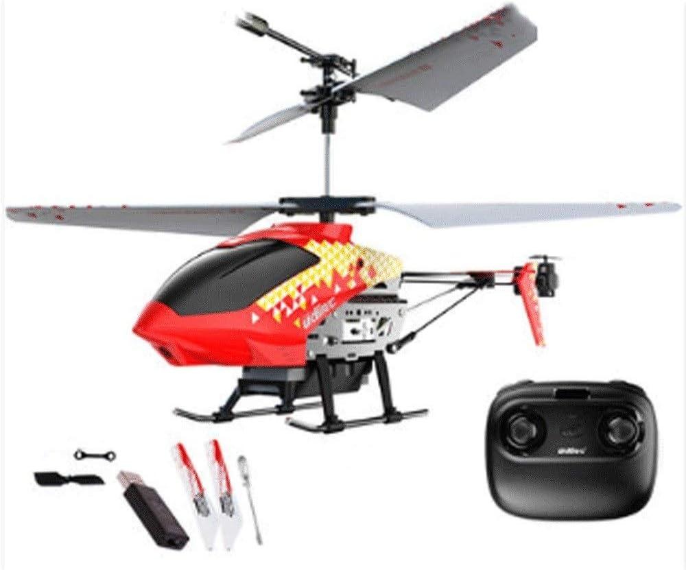 Zenghh Helicóptero teledirigido a distancia del marco de control del avión de juguete de varios jugadores de la aleación de carga y luces LED Hijos Adultos de interior al aire libre anti-caída del bal