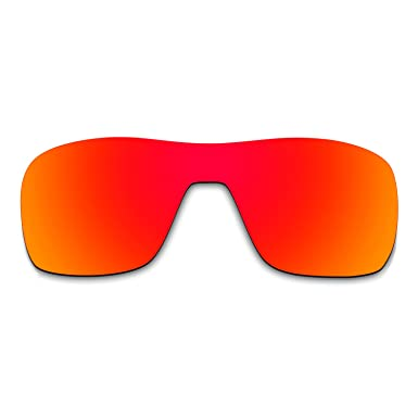 12a960d259f Image Unavailable. Image not available for. Color  Hkuco Plus Mens  Replacement Lenses For Oakley Turbine Rotor Sunglasses Red Polarized