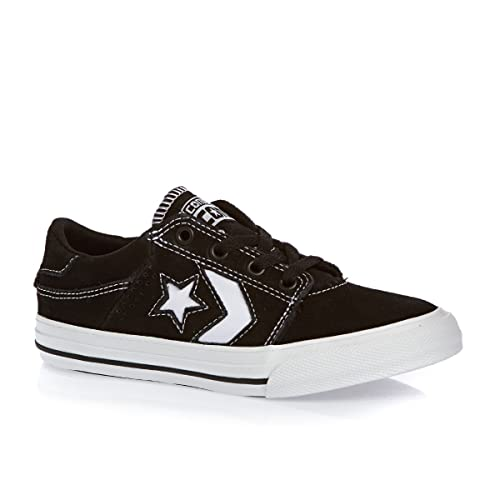 Converse Lifestyle Star Player Ox, Zapatillas Unisex Niño, Negro (Black/White/White 083), 36 EU