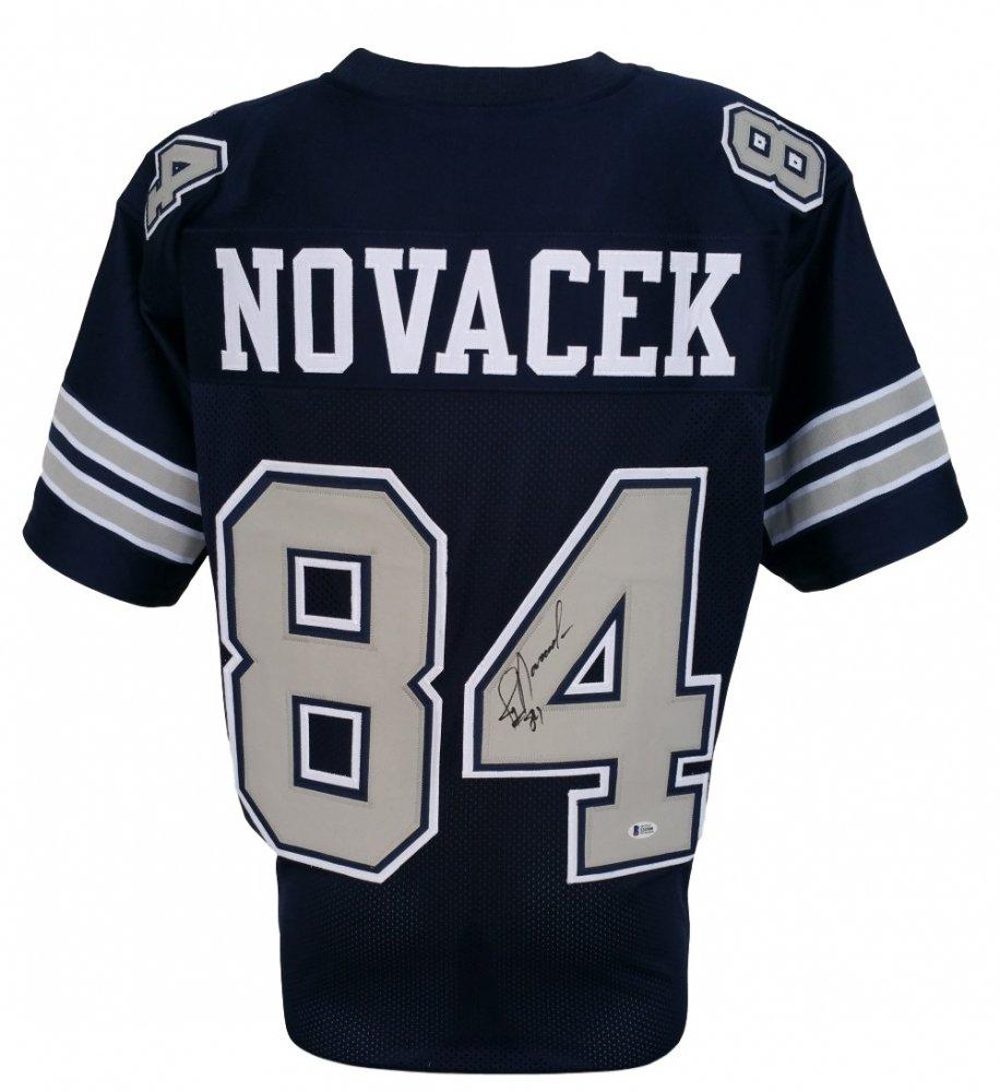 best sneakers 5c774 5aab6 Jay Novacek Signed Dallas Cowboys Jersey (Beckett COA ...