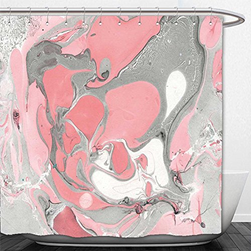 Beshowere Shower Curtain marbled beauty hand made diy texture paper marble style slice tracery hi res artistic wallpaper