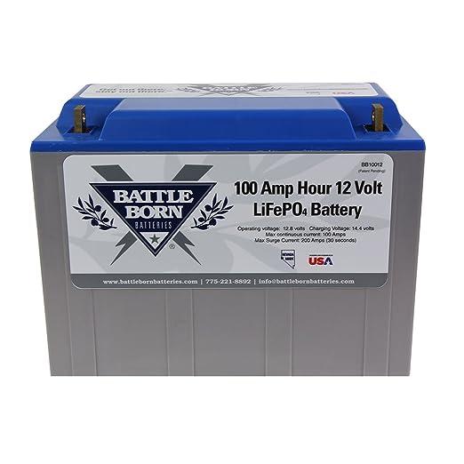 Battle Born Deep Cycle LifePO4 Battery