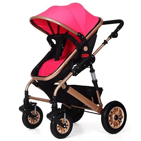 baby stroller El Cochecito De Bebé Puede Sentarse Y Plegar ...