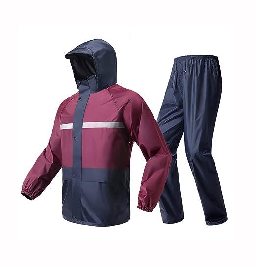 WQ-Chubasqueros Impermeable Pantalones de Lluvia Traje de ...