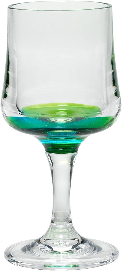 NEW Merritt 16 oz Peacock Crystal Acrylic Tumblers Glasses Gift Set of 4