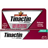 Tinactin Athlete's Foot Cream, Tolnaftate 1%, Antifungal, AF Treatment, Proven Clinically Effective on Most Athlete's…