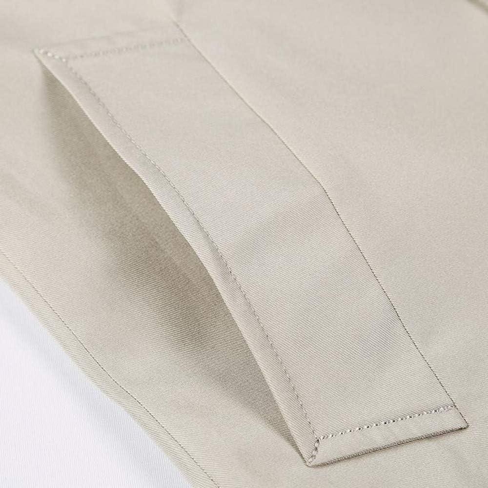 Cardigo Mens Winter Warm Jacket Overcoat Outwear Slim Long Trench Buttons Zipper Coat