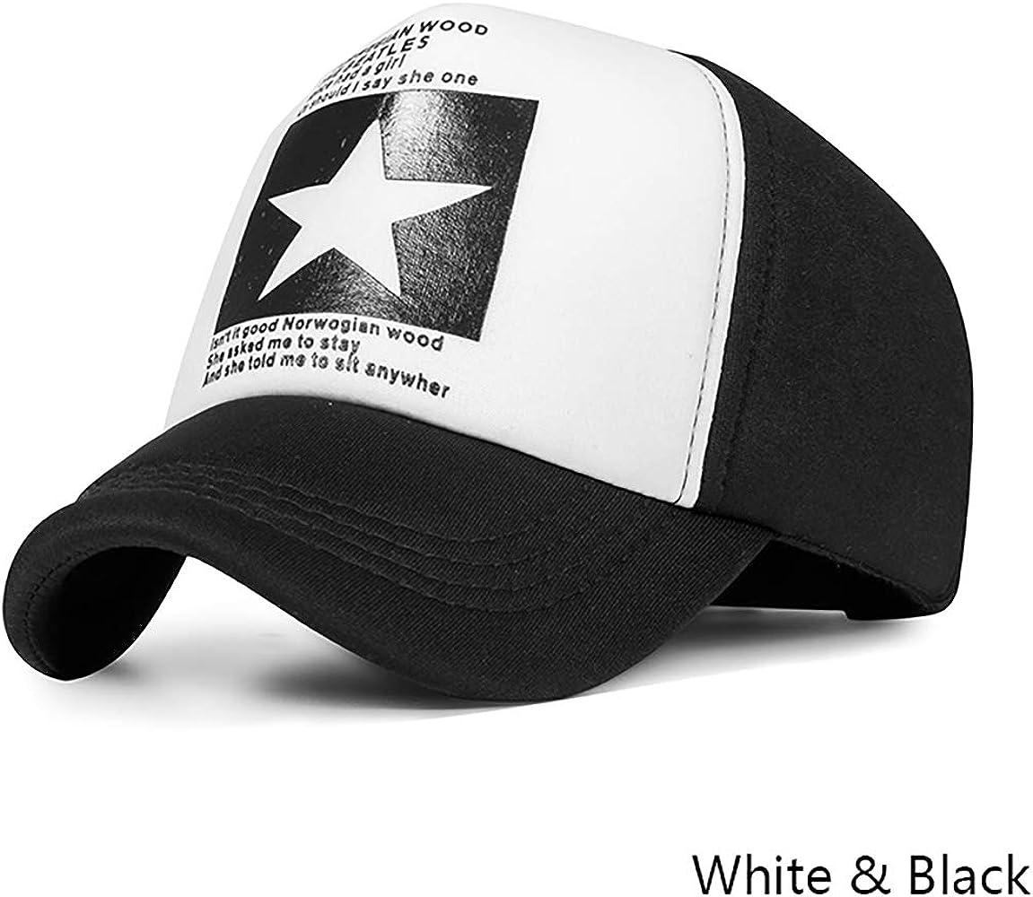 Gorra de béisbol, Espacio Unisex Ajustable Pentagrama de Verano ...