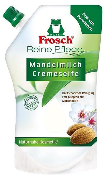 Frosch - Rana jabón de la mano refill leche de almendras, 500 ml