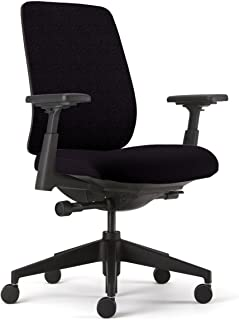 Lively Task Chair by Haworth Forward Tilt-Back Lock/Adjustable Seat - 4  sc 1 st  Amazon.com & Amazon.com: Knoll Grey Back Mesh Black Seat Life Chair: Home u0026 Kitchen