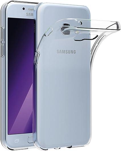 AICEK Funda Samsung Galaxy A5 2017, Samsung Galaxy A5 2017 A520F Funda Transparente Gel Silicona Galaxy A5 2017 Carcasa para Samsung Galaxy A5 2017 5.2: Amazon.es: Electrónica