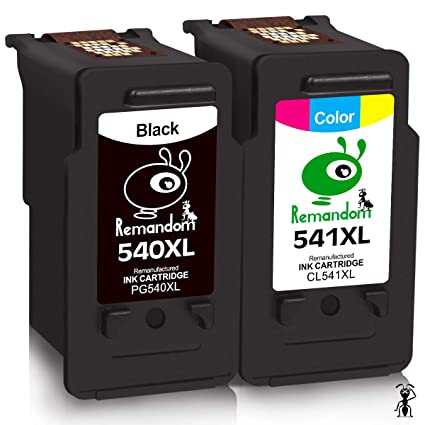 Remandom, PG 540XL, Cartuchos de tinta para Canon Pixma MG3650 ...