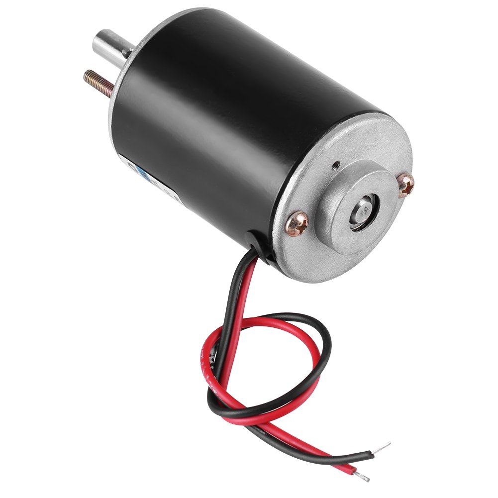Mini Electric Motor 30W Permanent Magnet DC Motor 12V/24V High Speed CW/CCW (DC 12V 3000RPM) by Walfront (Image #2)