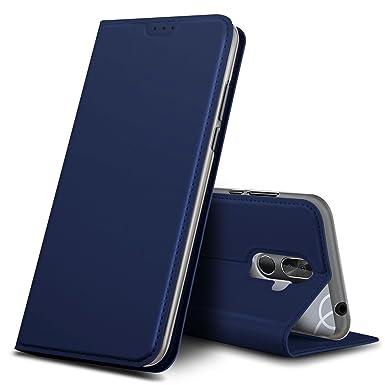 100% authentic 9ac5b fd795 Geemai Cubot J3 Pro Case, Cubot J3 Pro Cover [Card Holder] [Magnetic  Closure] Premium Leather Flip Wallet Case Cover for Cubot J3 Pro  Smartphone, Blue