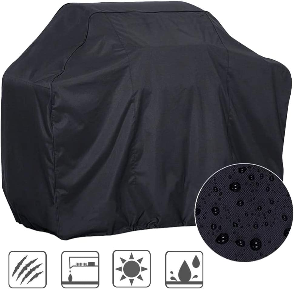 MEIKONG Barbacoa Cover Barbecue Grill Cover BBQ COVER Garden Rain Proof Waterproof Sunstech pantalla UV Dust Cloth Cover Furniture Cover