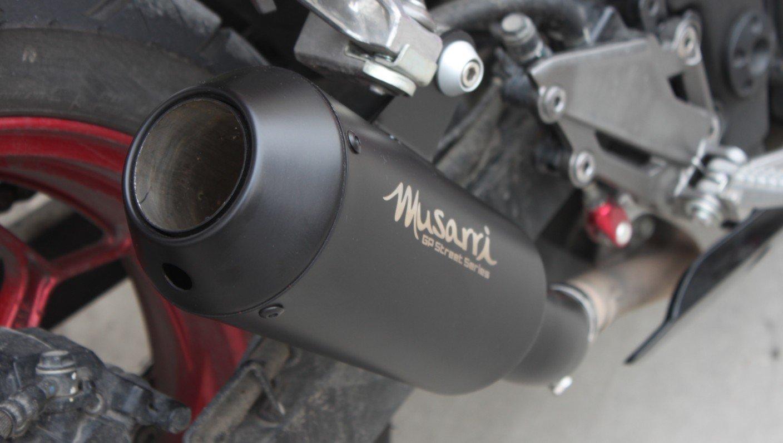 musarri GP STREET SERIE Deslizante ESCAPE PARA 2008-2012 ...