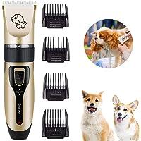 TXG Eléctrico Clipper para Perros y Gatos, USB Recargable Razuradora para Perros 1200 mAh Horas de Tiempo de Trabajo…