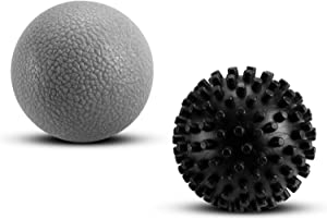 Deep Tissue Massage Balls Set for Post-Workout Myofascial Release and Physical Therapy - Use on Back, Legs, Feet, and More - by Fit2Live