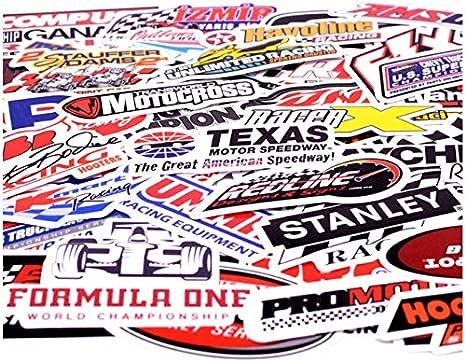 50pcs/pack Formula One Racing Car Graffiti Stickers Kids Toy ...