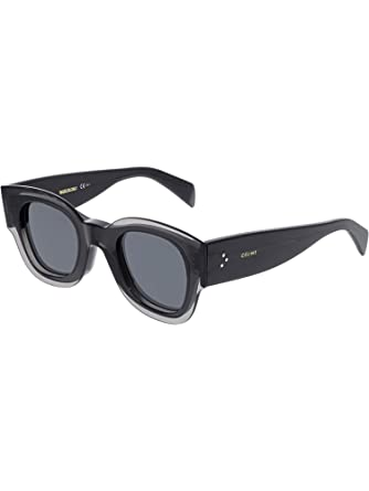 ab76de31da62 Sunglasses Celine Cl 41446  S 0KB7 Gray IR gray blue lens at Amazon Men s  Clothing store