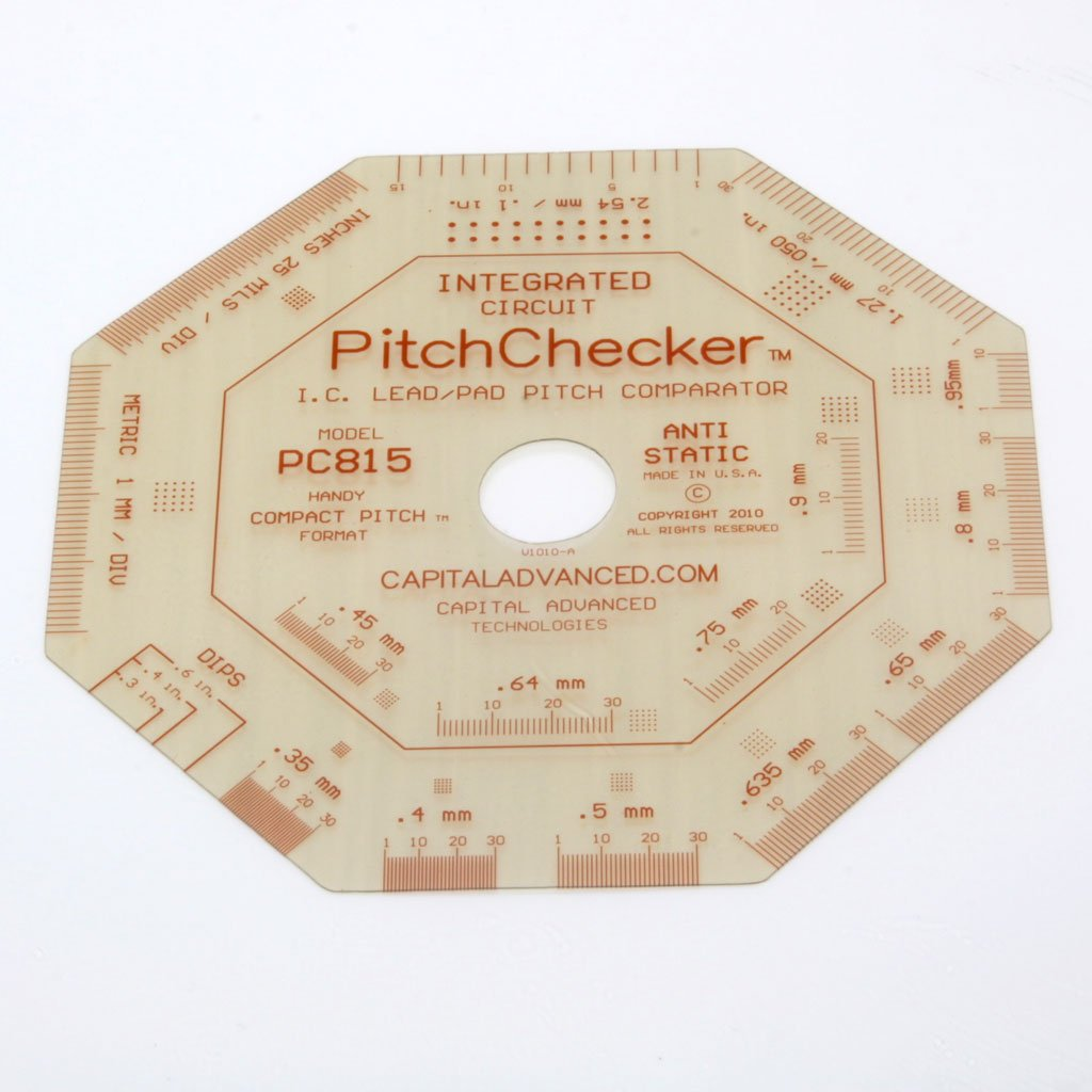 Capital Advanced Tech I.C. Lead Pitch Comparator