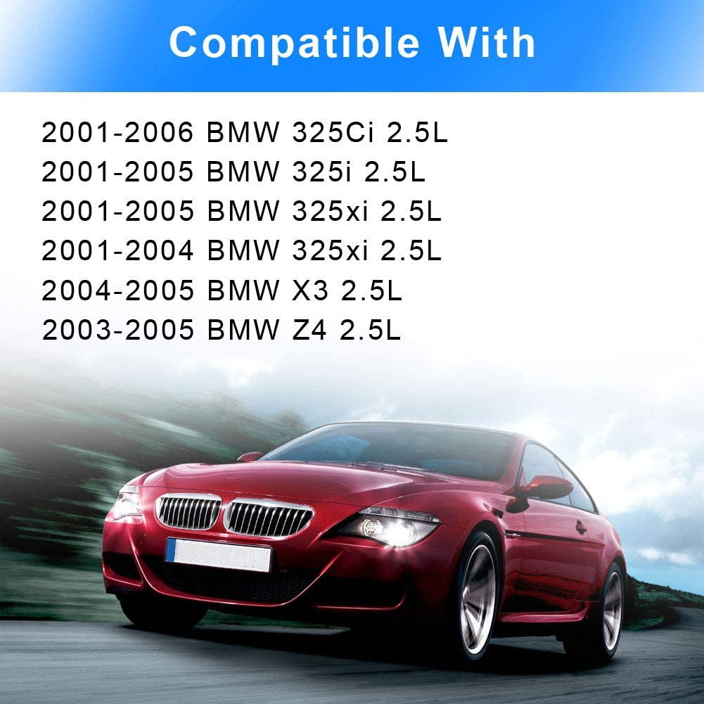 WMPHE Compatible with Air Intake Manifold Flap Adjuster Unit Runner Control Valve BMW 2.5L X3 Z4 325Ci 325i 325xi 525i Intake Manifold Adjusting DISA Valve Replace#11617502269 11617544806