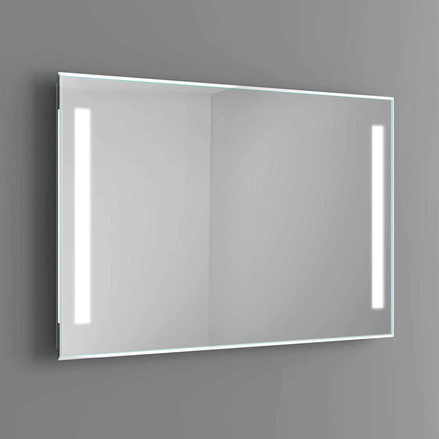 600 x 800 mm Modern Illuminated Backlit LED Light Bathroom Mirror ML7003 iBathUK