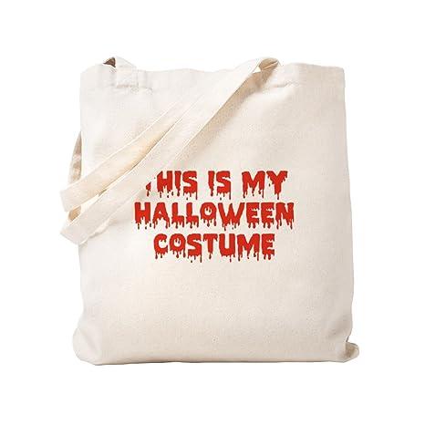 CafePress This is My Halloween - Bolsa para disfraces, lona ...