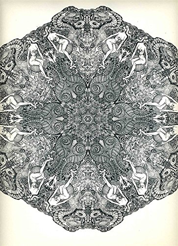 Psychedelic Mandalas V Saladin Lithograph 1967 from Generic