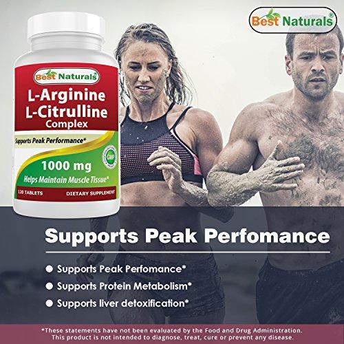 Best Naturals Arginine Citruline Complex 1000 mg 120 Tablets by Best Naturals (Image #2)