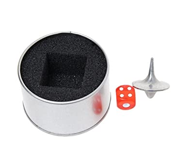 Toupie - Totem en métal avec cube & Box: Amazon.es: Juguetes y juegos