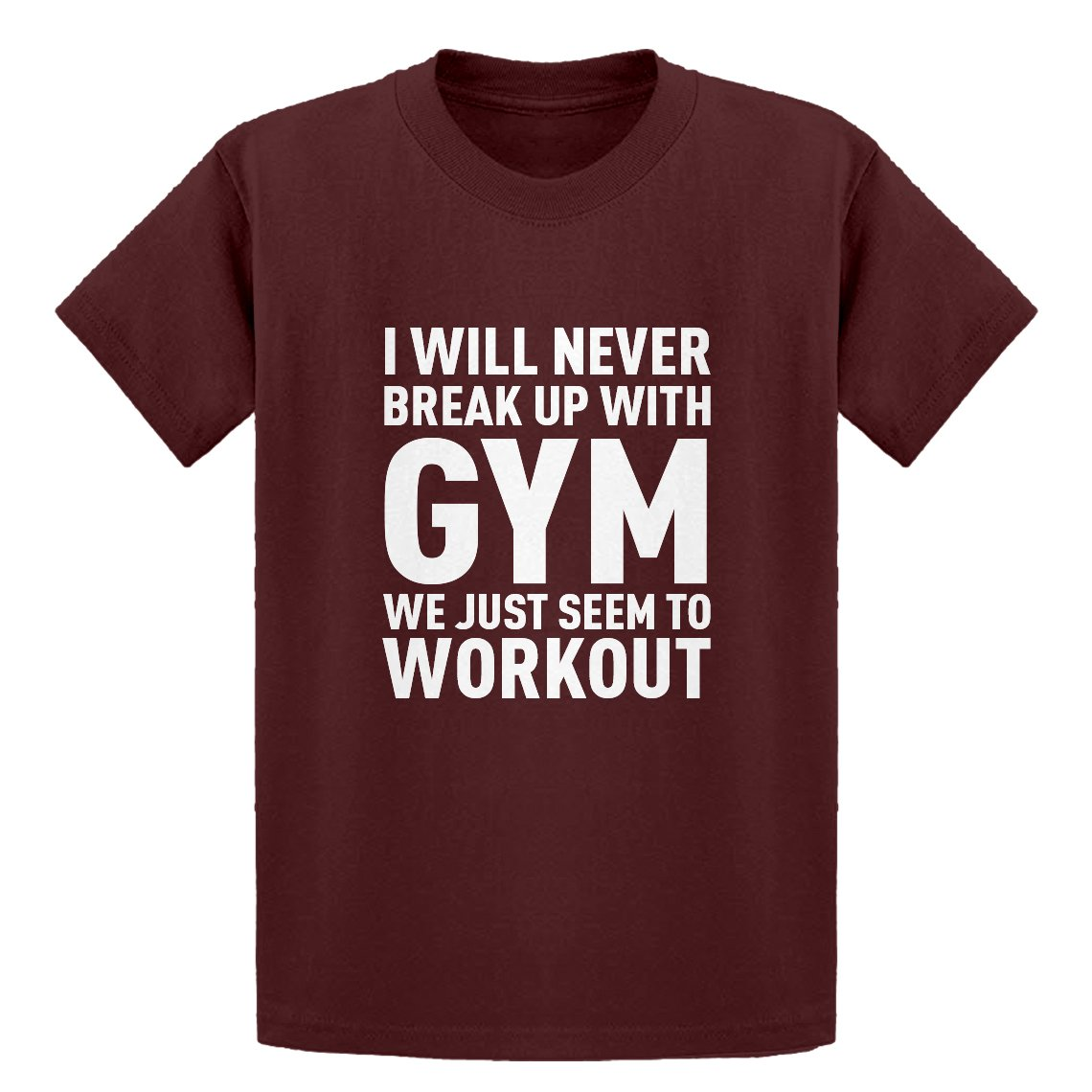 Indica Plateau Youth Never Break up with Gym Kids T-Shirt