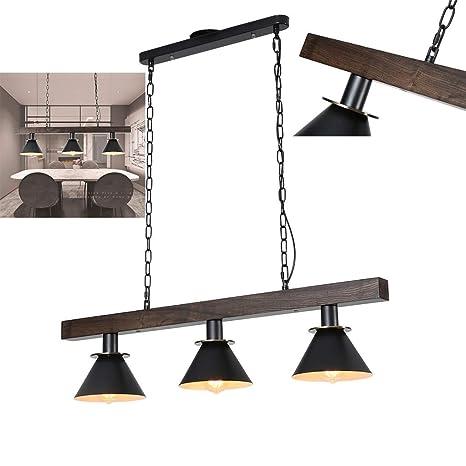 A.1.Coo La lámpara de Techo Hecha de Madera reciclada ...