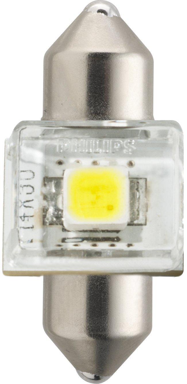 W21W White Bianco Philips automotive lighting 11065XUWX2 LED Lampadina di Segnalazione per Auto Set di 2