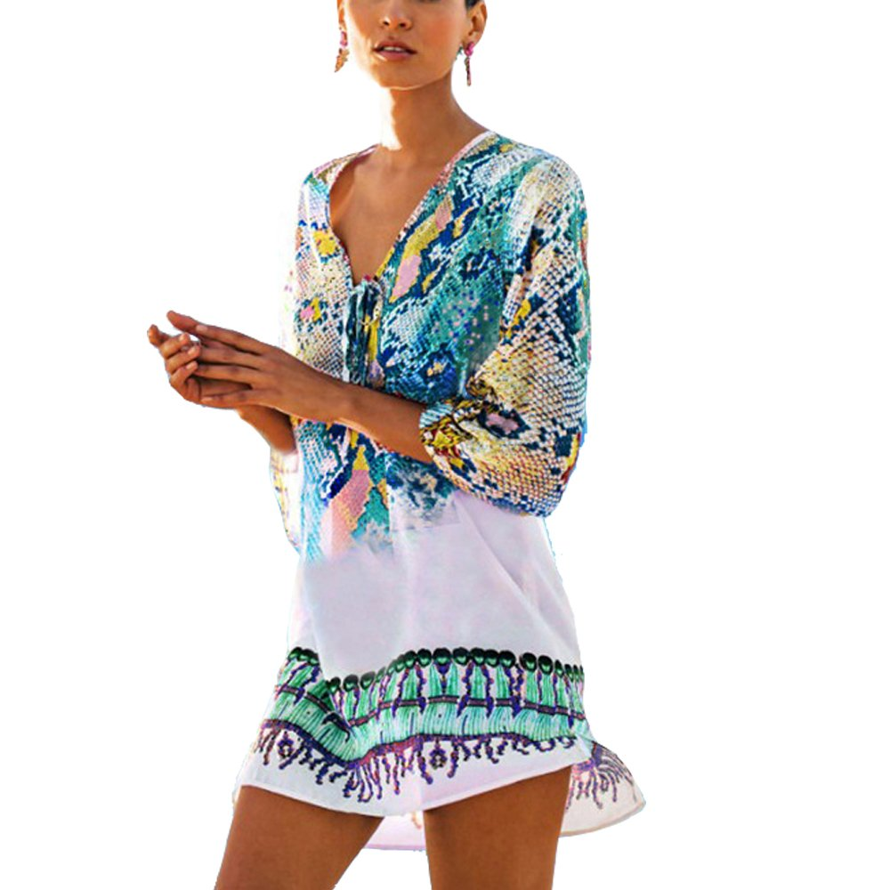 bcbebdc43f8 High Quality MATERIAL  The swimwear cover up is made of 100% Chiffon