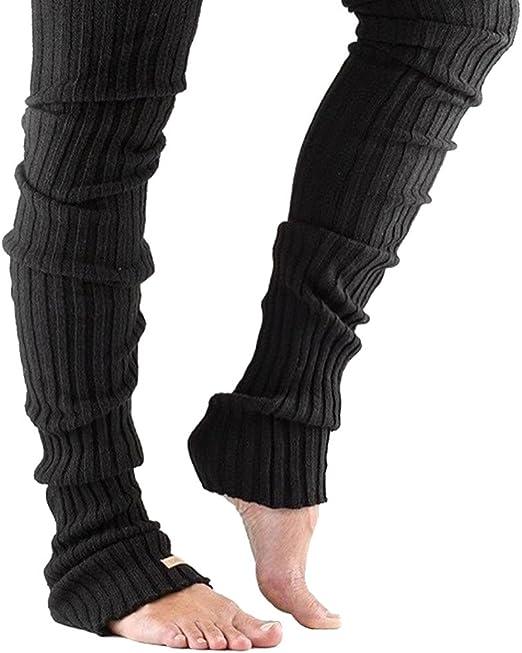 Bettli Leg Warmer, Women Thigh High Tie Cable Knit Crochet Long Boot Socks