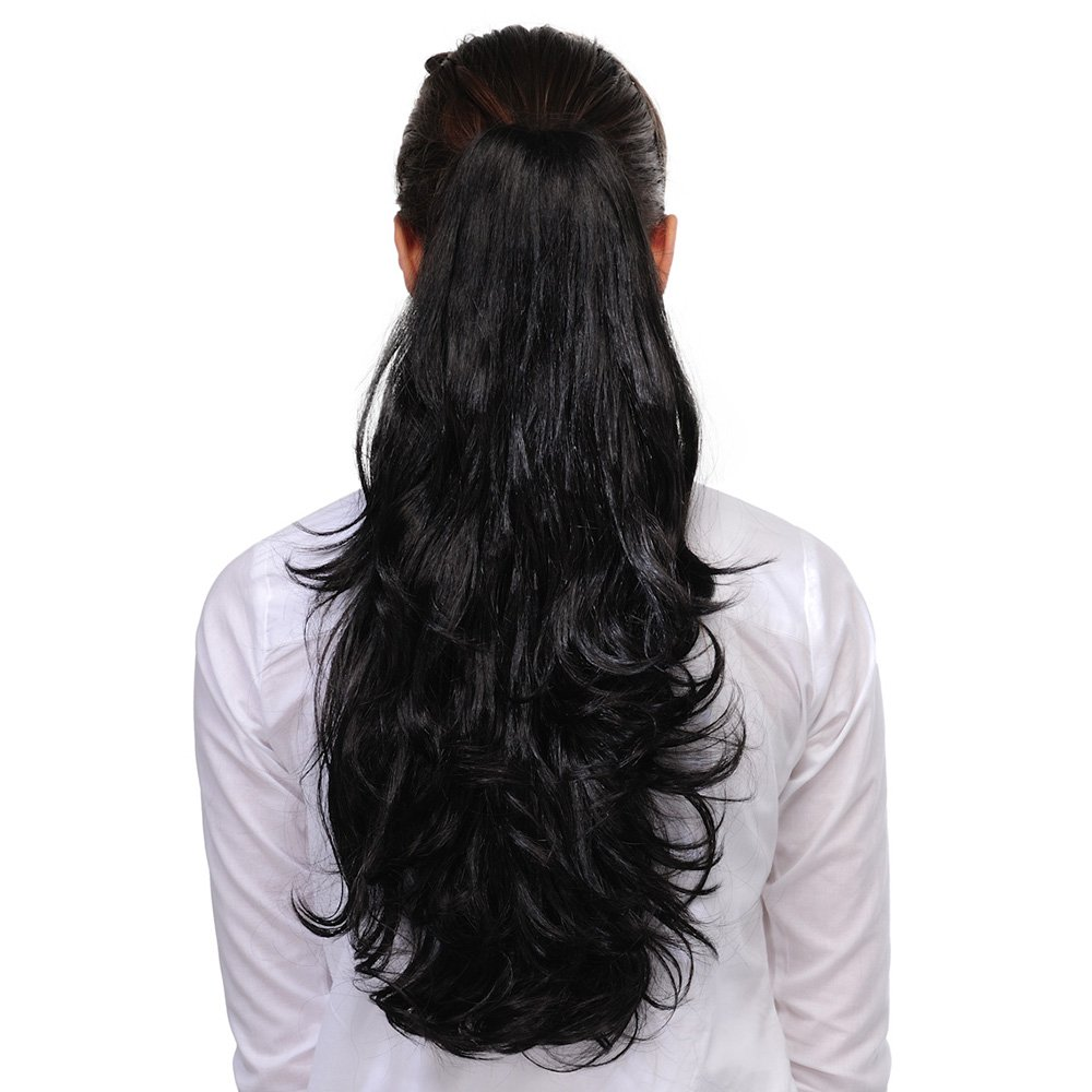 Hair extensions buy hair extensions online at best prices in homeoculture hair extension 20 inches black pmusecretfo Image collections