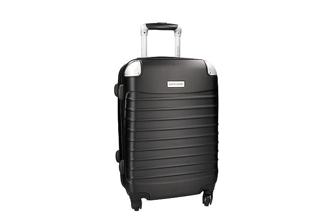 Maleta rígida PIERRE CARDIN negro mini equipaje de mano ryanair 4 ruedas VS157: Amazon.es: Ropa y accesorios