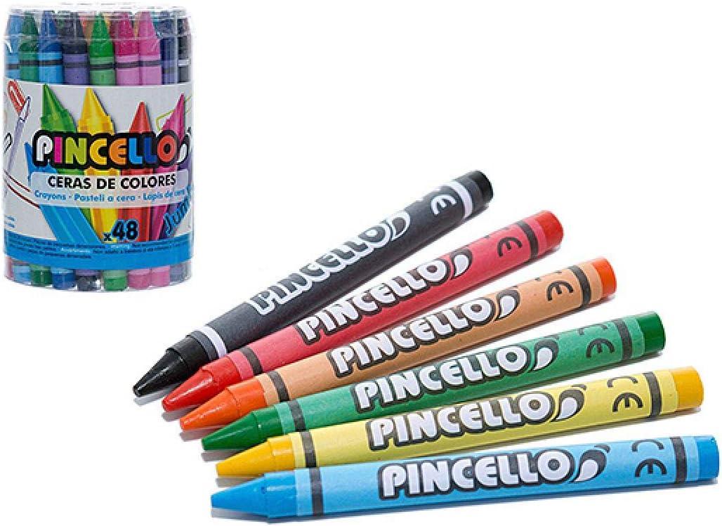 Pincello Ceras De Colores Pincello 48