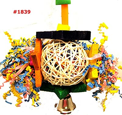 Bonka Bird Toys 1839 Foraging Star Bird Toy parrot cage toys cages shredder cockatiel conure african grey from Bonka Bird Toys