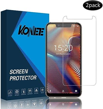KONEE Protector de Pantalla para UMIDIGI A3 / A3 Pro (2019), 【2 ...