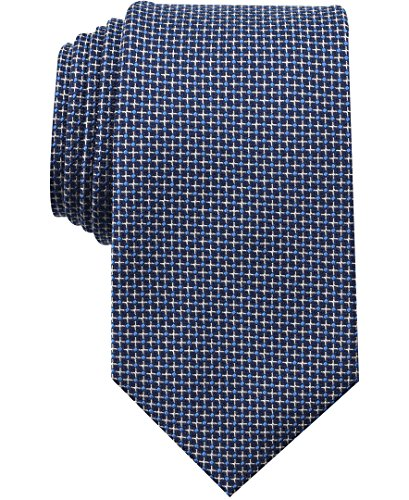 Nautica (NAV5C) Men's Sole Neat Tie, slate blue, One - Tie Nautica Mens