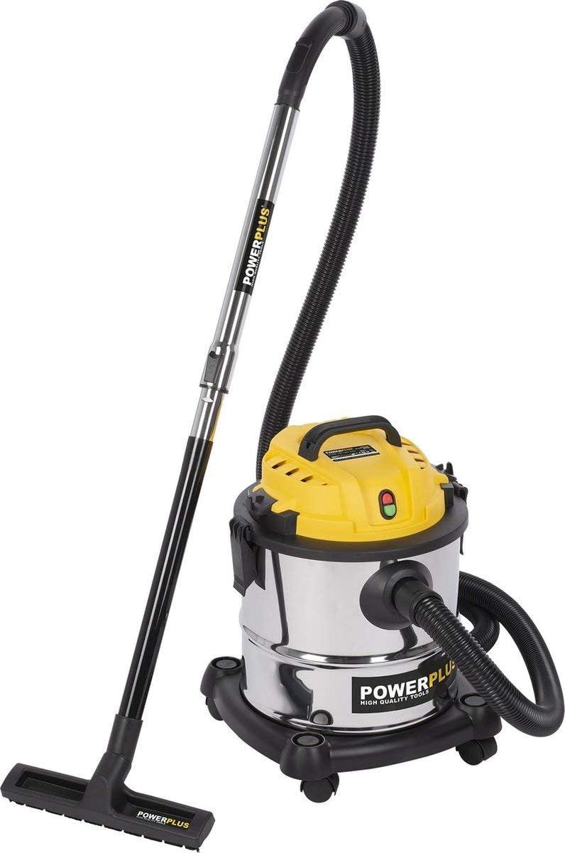 Powerplus POWX3230 - Aspirador húmedo/seco 1200 W, 20 l: Amazon.es ...