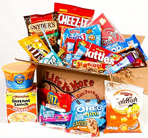 Military Care Package / Food Basket - - Birthday Gift for Army, Navy, Air Force, Marine Service -