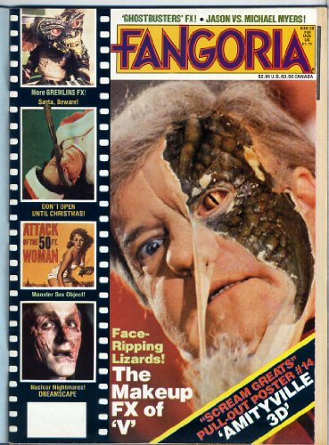 Fangoria Magazine 39 The FX & MAKEUP OF V THE INVADERS With Rare Wrap Around Newsletter Still Attached AMITYVILLE Dreamscape GREMLINS November 1984 (Fangoria Magazine)