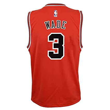 779f411fa Image Unavailable. Image not available for. Color  OuterStuff Dwyane Wade  NBA Chicago Bulls ...
